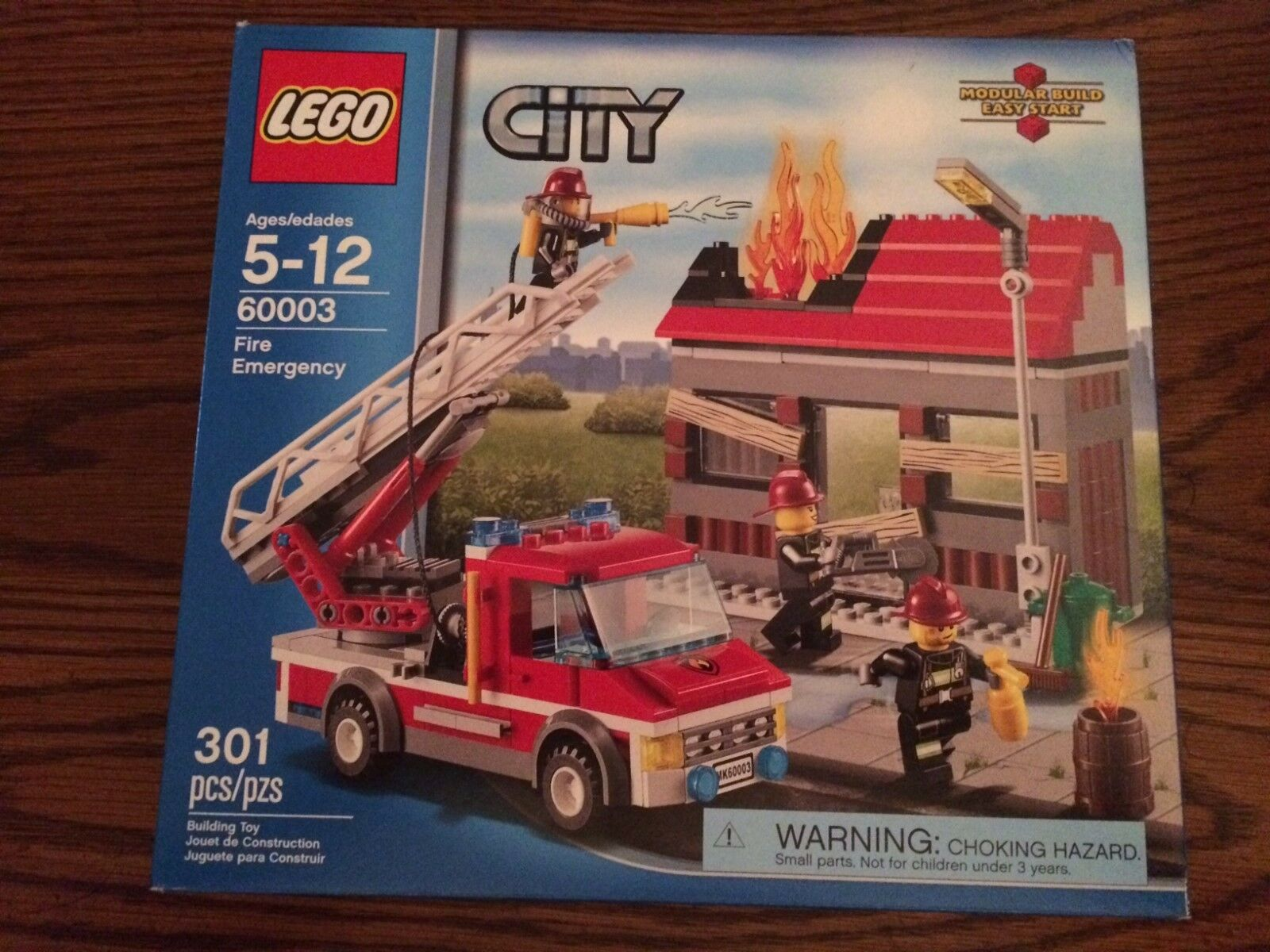 LEGO 60003 Fire Emergency from the City Series Nuovo in Box
