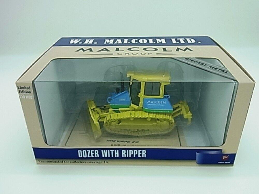 nuevo Komatsu Bulldozer D51 W.H. Malcom Inc. versión 1/50 First Gear F/S Japón