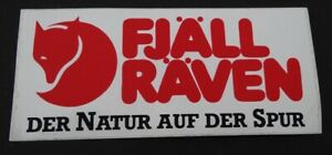 Promotional Stickers Fjällräven Outdoor Wear Sweden Arctic Trekking 80er