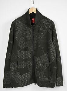 NIKE-886172-355-Men-039-s-X-LARGE-Crossed-Pattern-Polyester-Blend-Jumper-29090-JS