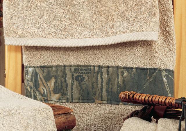 Mossy Oak Camouflage Bath Accessories 3 Pc Towel Set Camo Bathroom