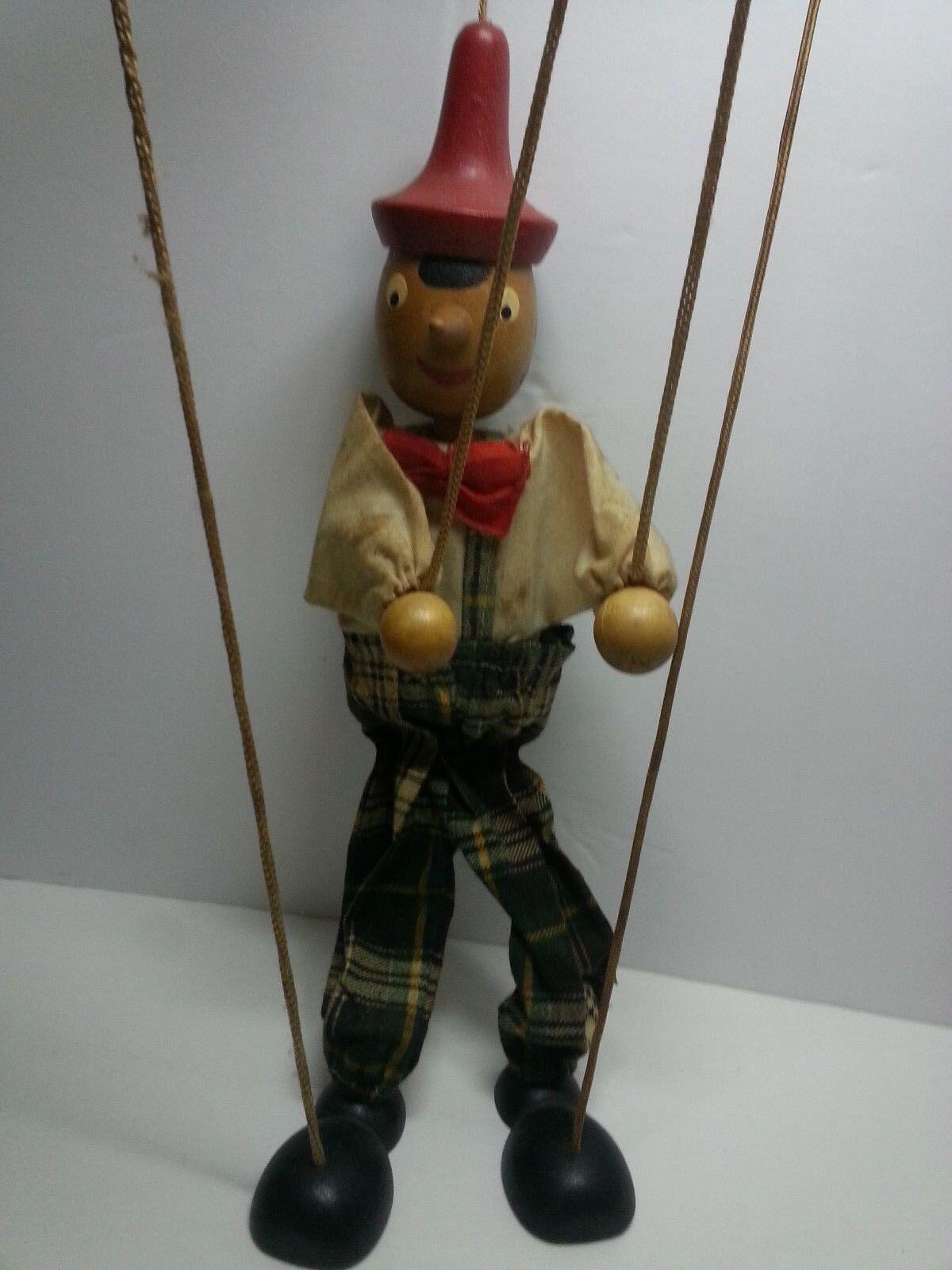 Marionette Pinoccio Puppette 13 1/2