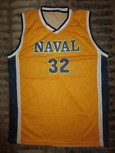 Navy Midshipmen Naval Academy Basketball Jersey SM S