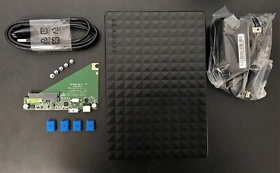 "Seagate BackUp Plus Desktop 3.5/"" USB 3.0 Enclosure External SATA Drive Case New"
