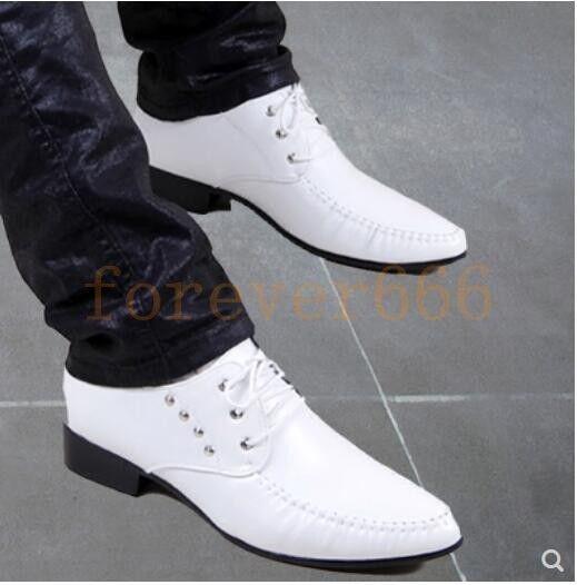 Trend Friseur Schuhe Männer Niet Herrenschuhe Mode Nachtclub Business Bnzug