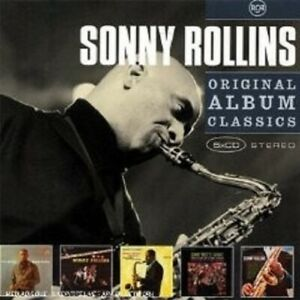 SONNY-ROLLINS-034-ORIGINAL-ALBUM-CLASSICS-034-5-CD-BOX-NEU