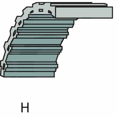 sb35065600//0 sabo 102-13 G 102-15 H Cuchillo propulsión correa dentada 135065600//0