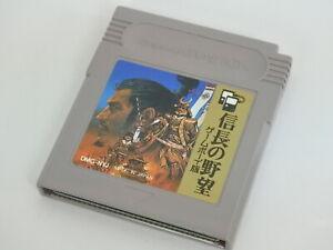 Game-Boy-NOBUNAGA-NO-YABO-Cartridge-Only-Nintendo-Japan-gbc