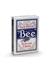 Bee-Standard-Index-Blue-Deck-Poker-Playing-Cards-Club-Special-Magic-Tricks-USPCC