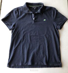 Men-039-s-BANANA-REPUBLIC-manches-courtes-ajuste-Pique-Polo-Shirt-occasion-Taille-L