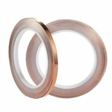 Copper Foil Tape 2 Pcs Bronze Conductive Adhesive Tapes For Emi Shielding