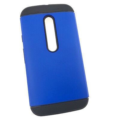 Motorola Moto G3 3rd Gen Extra Slim Hybrid Hard Armour Tough Cover Case