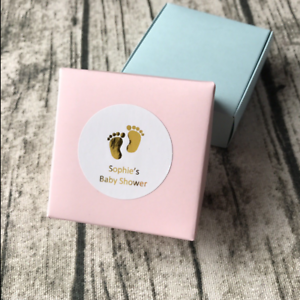 Silver-Rose-Gold-Personalized-Gift-Labels-Baby-Shower-Thank-You-Favors-Sticker