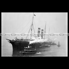#php.00979 Photo SS GOORKHA 1897 UNION LINE PAQUEBOT OCEAN LINER