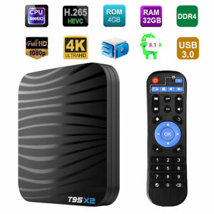 Details about Zedo T95X2 Android 8 1 TV Box S905X2 Quad Core WiFi 4G+32G  DDR4 4K IPTV Player