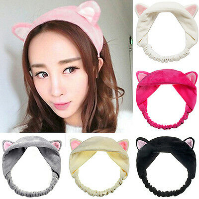 Womens Girls Amazing Cute Cat Ears Headband Hair Head Band Party Gift Headdress
