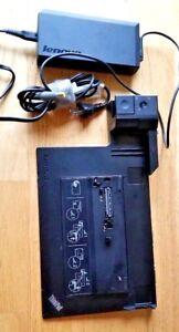Lenovo-ThinkPad-433835U-Mini-Dock-Station-d-039-accueil-avec-USB-3-0-W520-W530-170-W-AC