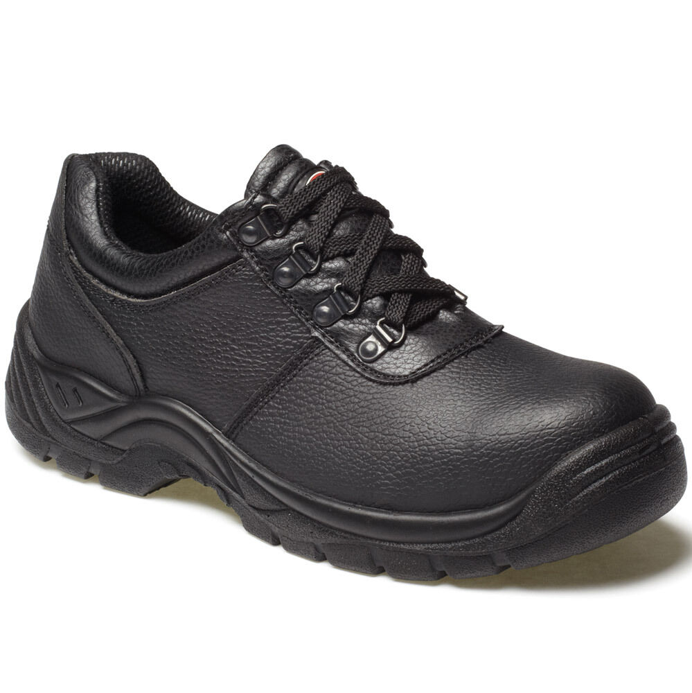 MENS DICKIES CLIFTON BLACK SAFETY WORK SHOES SIZE FA13310