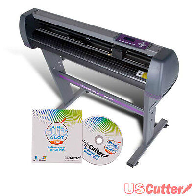 "NEW 28"" Vinyl Cutter / Sign Cutting Plotter w/ Sure Cuts A Lot Pro - USCutter"