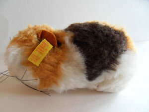 Steiff Swinny Gerbel guinea hamster button flag made in Germany 256