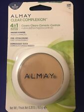 Almay Clear Complexion 4 in 1 Blemish Eraser Pressed Powder ~ Light 100 ~ Sealed