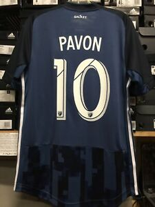 finest selection 69094 59ed6 Details about Adidas La Galaxy Away Jersey Authentic 2019/20 Player Pavon  #10 Size Large Only