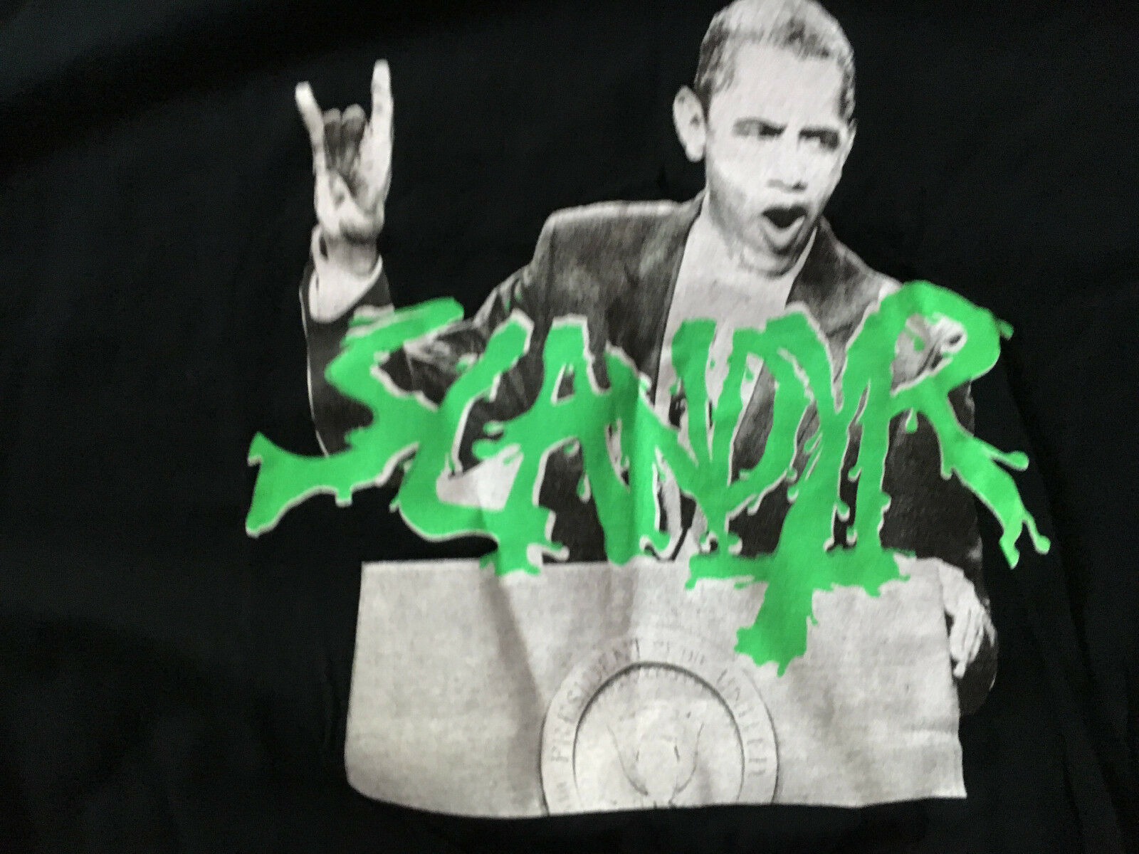 NEW Vintage Scandyr F.Y.B.S. Records Punk Metal Thrash Shirt 2XL FYBS XXL NWOT FYBS 2XL 696d46