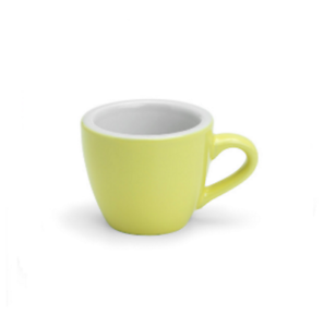 Details about Acme Demitasse Yellow Espresso Cup and Saucer Set