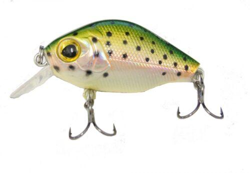 Trick-Fisch Wobbler Forelle 5cm 6g für Forelle Barsch Forellenwobbler