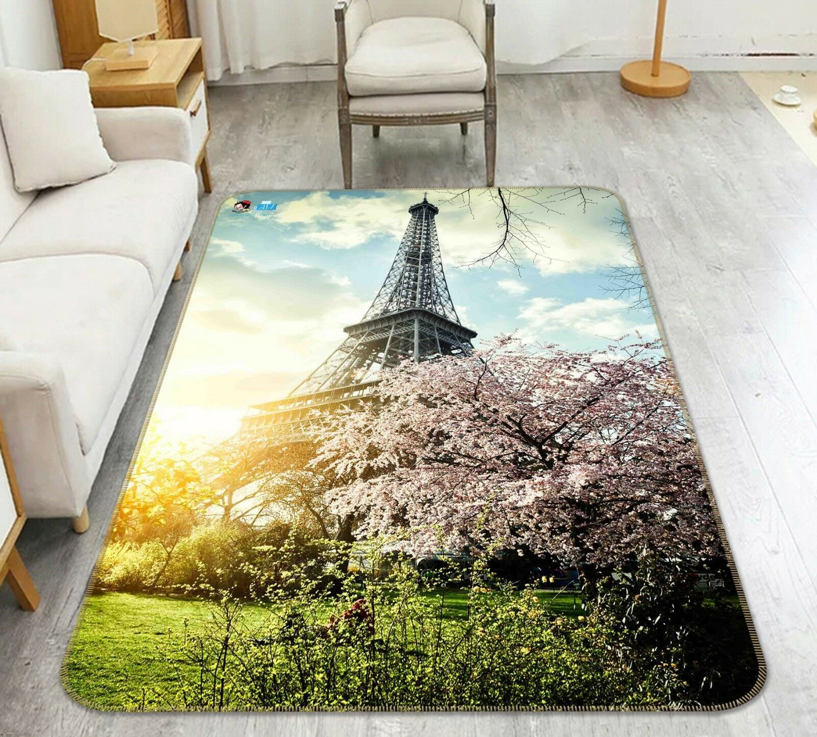 3D Tower Squid 22 Non Slip Rug Mat Room Mat Quality Elegant Carpet US Cobb