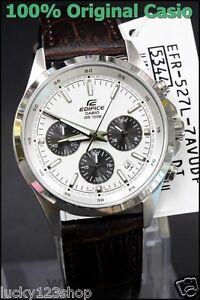 EFR-527L-7A White Casio Men s Watches Edifice Chronograph 100M Date ... b35cb2d885