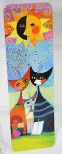 Kunstlesezeich<wbr/>en Lesezeichen Rosina WACHTMEISTER Momenti di felicita Katze CAT