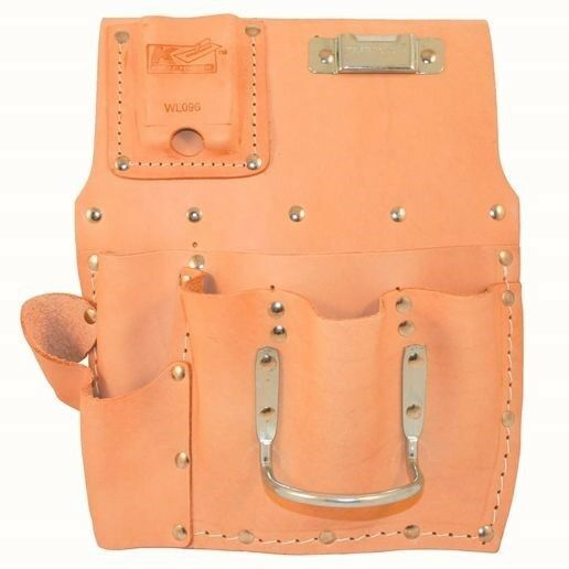 Kraft Tool Flat Type Drywall Tool Pouch Made in the USA