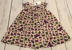 Baby-Gap-Girls-12-18-Months-Lightweight-Pink-Butterfly-Dress-With-Bloomers-Nwt