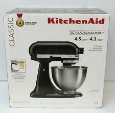 Kitchenaid K45ss Classic Series Tilt Head Stand Mixer 4 5 Quart Onyx Black For Sale Online Ebay