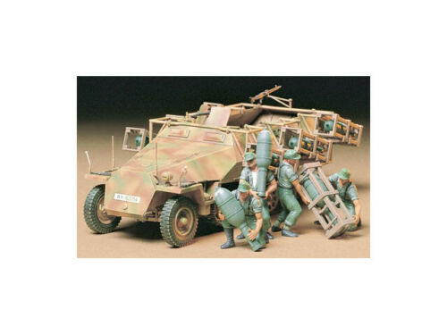 Ge Sd.kfz 251 /'stuka Zu Fuss/' 1:35 Plastic Model Kit TAMIYA