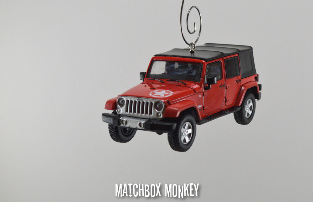 2014 Jeep Wrangler Unlimited Freedom Edition 4 4 4 Door Christmas Ornament 1 43 X XJ a4fd37