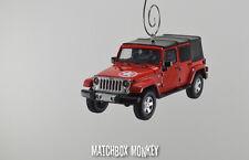 2014 Jeep Wrangler Unlimited Freedom Edition 4 Door Christmas Ornament 1/43 X XJ
