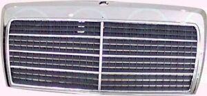 Mercedes-W124-Bj-84-93-Kuehlergrill-Chrom-mit-Kunststoffeinlage