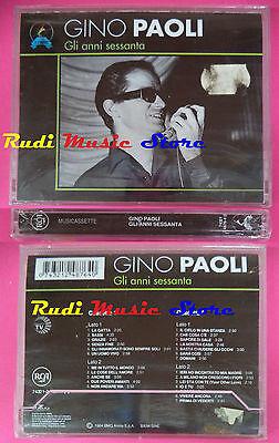 2 MC GINO PAOLI Gli anni sessanta BOX SIGILLATO 1994 italy RCA no cd lp