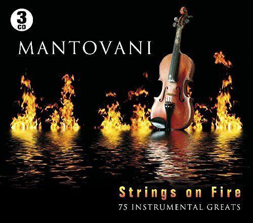 Mantovani - Strings On Fire: 75 Instrumental Greats - Mantovani CD I6VG The The