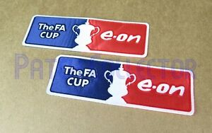 Patch Football F.A CUP E-ON 07//11