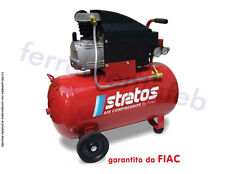 COMPRESSORE ARIA STRATOS FIAC 50 LT 2HP MONOFASE 220V PROFESSIONALE