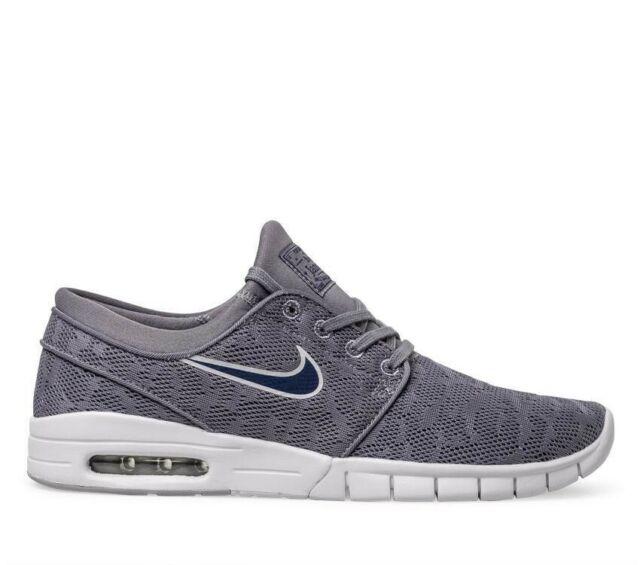 the best attitude 463bb d4d49 Nike SB Stefan Janoski Max UK 4.5 EUR 37.5 Gunsmoke Blue Void 631303 026