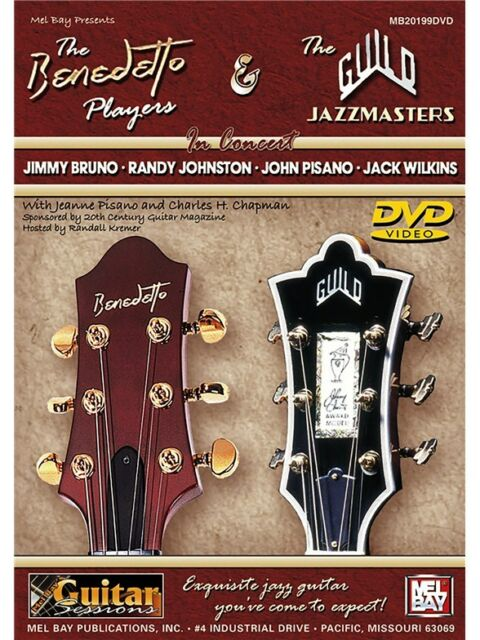 The Benedetto Players Learn to Play GUITAR MUSIC CHRISTMAS BIRTHDAY PRESENT  DVD