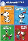 4 Kid Favorites Happiness Is Peanuts 0883929331468 DVD Region 1