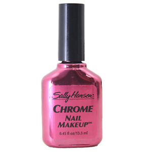 Details About Sally Hansen Chrome Nail Polish Metallic Carnelian 45 Fl Oz