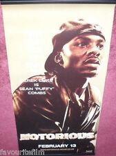 Cinema Banner: NOTORIOUS 2009 (Sean 'Puffy' Combs - Derek Luke) Jamal Woodward