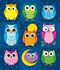 Colorful Owls Prize Pack Stickers 9781604189681 by Carson-dellosa Publishing