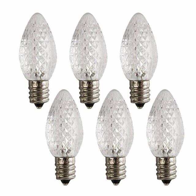 Westinghouse Lighting 5511000 0.5 2 Pack LED Light Bulbs, Candelabra Base 4-Watt Equivalent C7 Clear